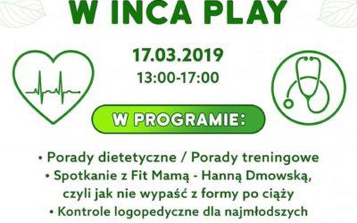 Podsumowanie: Dzień Zdrowia w Inca Play