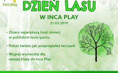 Międzynarodowy Dzień Lasu w Inca Play!